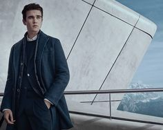 Gabriel-Kane Day-Lewis is the star of the Fay Fall-Winter 2016/17 men's collection.