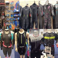 Wetsuits and Trisuits from Zone3 and Zoot #openwaterswimming #triathlon