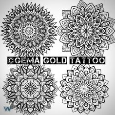 Some available designs. Space end of Jan DM me or email indigotattooandpiercing@Gmail.com for booking. @indigotattoostudio #mandala #tattoo