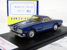 Tecnomodel-12-1-43-1960-Maserati-5000-GT-Resin-Handmade-Model-Car