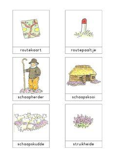 Woordkaarten Bas 'De heide' 3