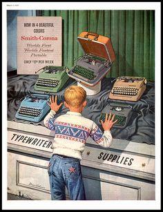Пишущая машинка - мечта детства