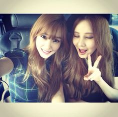 #Tiffany #Seohyun #SNSD #selca
