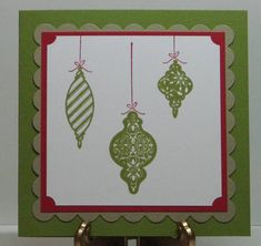 Stampin' Up:  Tree Trimmings---This will have to be found secondhand