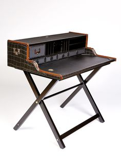 Humphrey Desk Black - Travelling Arriving Home | Travelling Arriving Home
