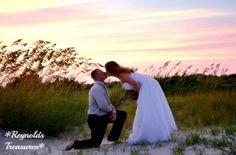 sunset beach wedding Charleston
