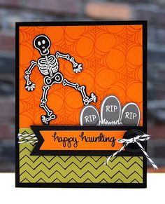 Happy Haunting by stripey fish (Jean M), via Flickr for neat and tangled