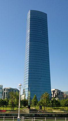 Tocando el cielo de Bilbao