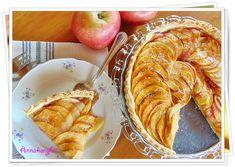 Francia almás pite | Anna konyhája Apple Pie, Vegan, Cookies, Anna, Recipes, Food, France, Crack Crackers, Biscuits