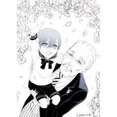 Ciel and Tanaka