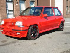 Turbo-Charged 1988 Renault 5 GT
