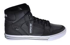 Supra Vaider Men's Exclusive Stylish Basketball Shoes Black/White s28188 #SUPRA #BasketballShoes