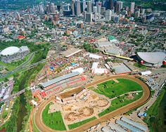 The Calgary Stampede takes place in early July and attracts visitors from all over the world.