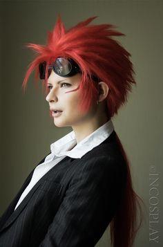 Reno Sinkler cosplay by Jannet-Sorekage on DeviantArt