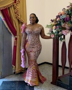 Lace Dress Styles, Wedding Dress Styles, Bridal Dresses, African Style, African Dress, Beads Clothes, Black King And Queen, Kente Dress, Mother Of The Bride Dresses Long