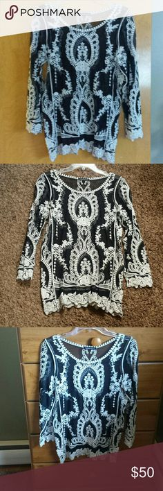 Top beautiful you are not alone nwot Adorable never worn so cute great for summer with cute shorts never worn Tops
