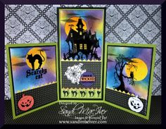 house of haunts - Homemade Cards, Rubber Stamp Art, & Paper Crafts - Splitcoaststampers.com