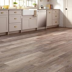 TrafficMASTER Allure 6 in. x 36 in. Brushed Oak Taupe Luxury Vinyl Plank Flooring (24 sq. ft. / Case)-95311 - The Home Depot