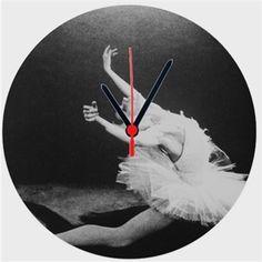 Ballerina Kendin Tasarla - Duvar Saati 27cm