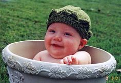 And the hat on a baby!