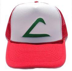 Ash Ketchum Trainer Hat. ITS MINE,ITS MINE!!!!!!!!