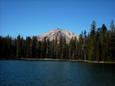 Summit lake, Lassen park, CA