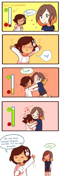 Anti-Social Media :: 26: Affection   Tapastic Comics - image 1