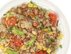 "BEST quinoa salad recipe I've ever had. ""South American Quinoa Salad..."