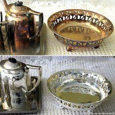 argento pulito con la pila chimica