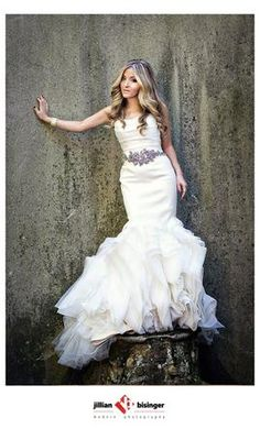 Vera Wang Ethel 122010 $3000 Size: 10  Used Wedding Dresses ...