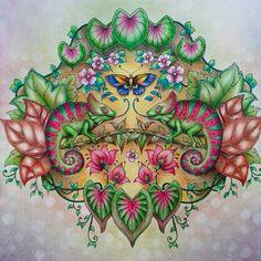 Inspirational Coloring Pages By Silviareginacassol Wonderfulcoloring Selvamagica Magicaljunglecoloringbook Johannabasford Adultcoloring