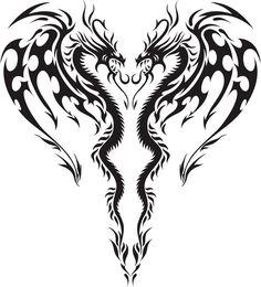 Small Dragon Tattoos, Dragon Tattoo Designs, Wing Tattoo Men, Tribal Wings, New Beginning Tattoo, Motorcycle Paint Jobs, Samurai Artwork, Airbrush Tattoo, Tattoo Flash Art