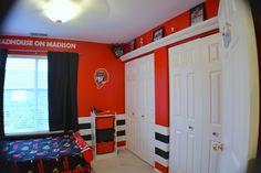 Chicago Blackhawks Bedroom