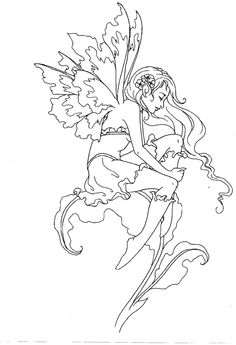 amy brown coloring pages free - photo#37