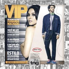 Terno TNG na Revista VIP