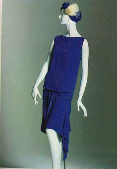 Callot Soeurs evening gown 1927