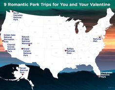 9 Romantic Park Trips for You and Your Valentine   National Parks Conservation Association