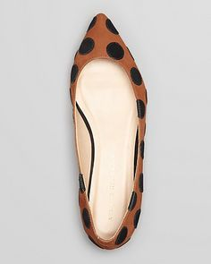 Loeffler Randall Pointed Toe Flats - Quinnie Polka Dot | Bloomingdale's