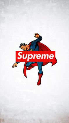 Supreme Trend Logo Film Art #iPhone #6 #plus #wallpaper