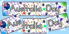 Head your Australia Day display with this colourful Opera House-themed display banner. Display Banners, Anzac Day, Australia Day, Australian Animals, Libraries, Opera House, Celebration, Kids, Australia Day Date