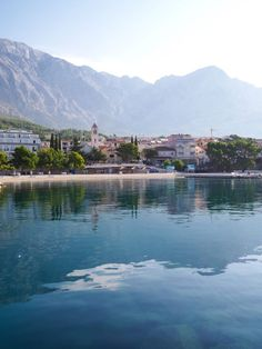 Croatia Travel Inspiration - An Early Morning Stroll Around Baska Voda, Croatia. A delightful town close to Makarska and a perfect day trip from Split. Travel Guides, Travel Tips, Split Croatia, Croatia Travel, A Perfect Day, Dubrovnik, Early Morning, Day Trip, Norway