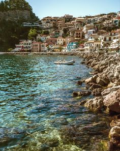 Parga, Greece   Olive groves, orange trees, stretches of golden sand, and a surreal sapphire sea are omnipresent in this true Greek island paradise.