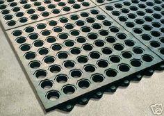 Wash stall mats
