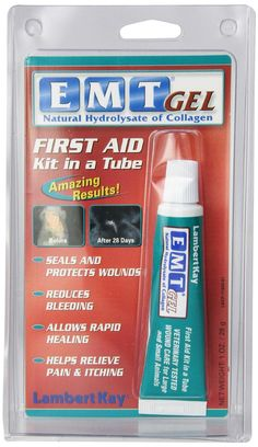 Lambert Kay EMT Gel cat First Aid Kit in a Tube, 1-Ounce >>> Insider's special review you can't miss. Read more  : Cat Health and Supplies