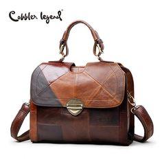 Cobbler Multi Color Vintage Leather Shoulder Bag