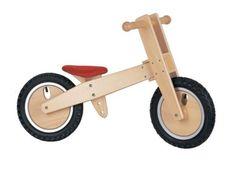 Lelin wooden wood balancing balance bicycle childrens kids indoor outdoor bike