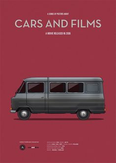 Cartel The Live of the Others. CarsAndFilms by Jesús Prudencio