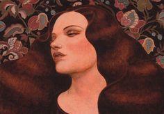 Les illustrations de Pierre Mornet : le féminin entre grâce et mélancolie