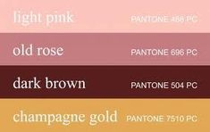 you can travel to my personal site for additional newest pics old rose color palette crafts free, Old Rose Color Palette, Vintage Colour Palette, Gold Color Palettes, Gold Color Scheme, Pink Palette, Dusty Rose Color, Pink Color, Vintage Wedding Colors, Fall Wedding Colors