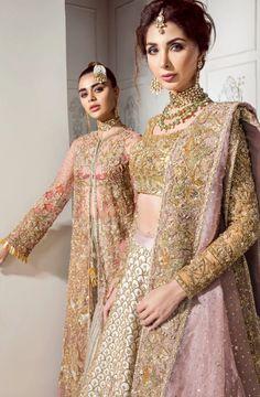 Asian Bridal Dresses, Pakistani Bridal Dresses, Bridal Lehenga, Indian Dresses, Indian Outfits, Wedding Sarees, Pakistani Suits, Indian Clothes, Bridal Gowns